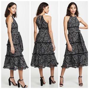 Keepsake Imagine Lace Midi Dress